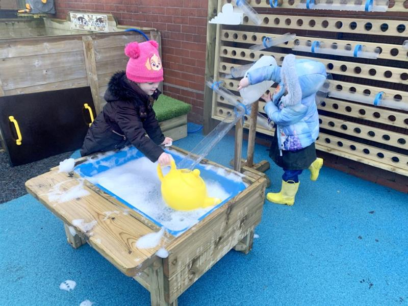 Water Play Equipment for EYFS Playgrounds
