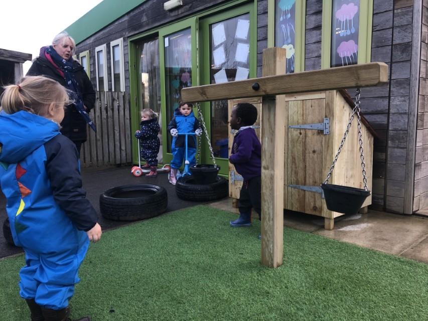 Nursery Garden Play Equipment