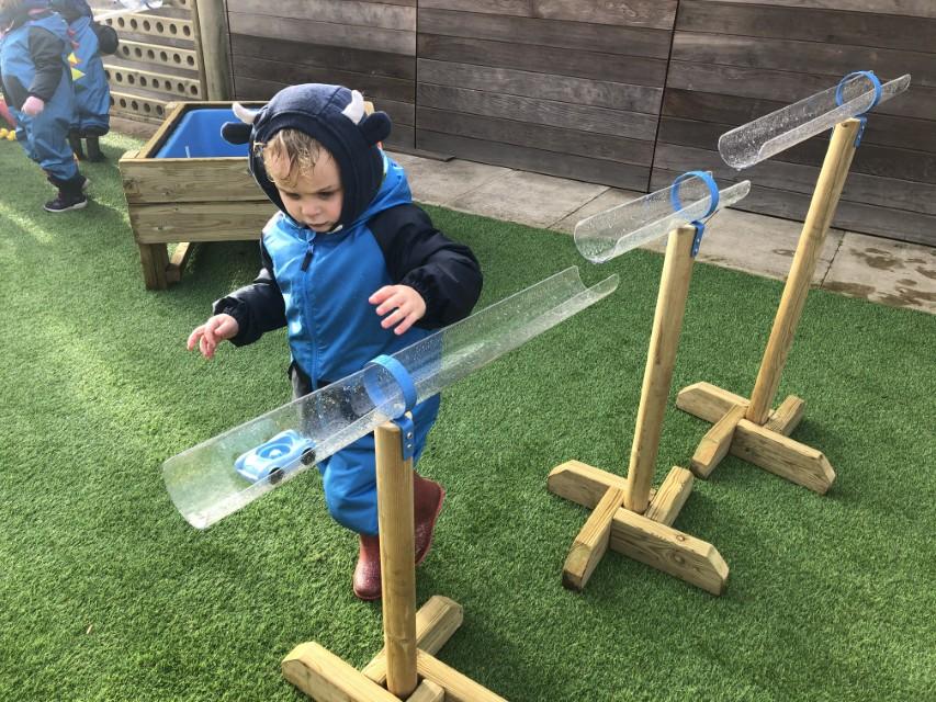 Nursery Garden Outdoor Play Equipment