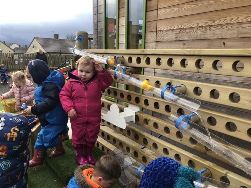 Nursery School Playground Water Walls