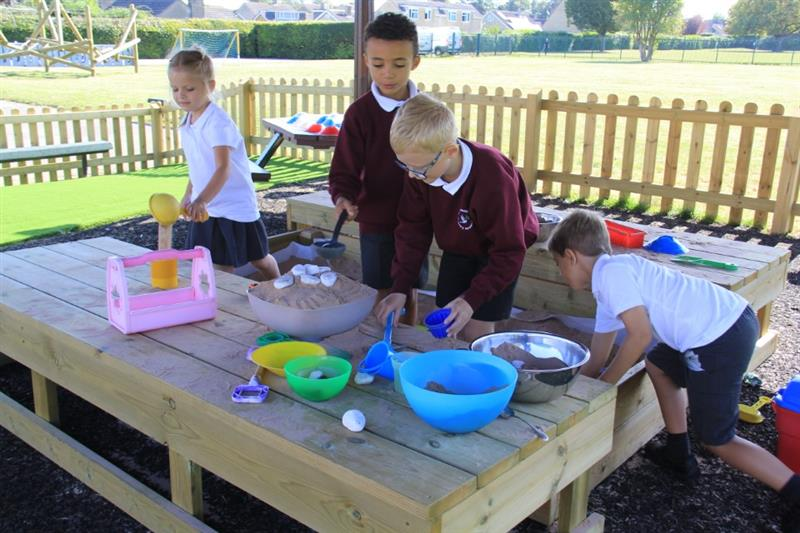 Sand Play Equipment For School