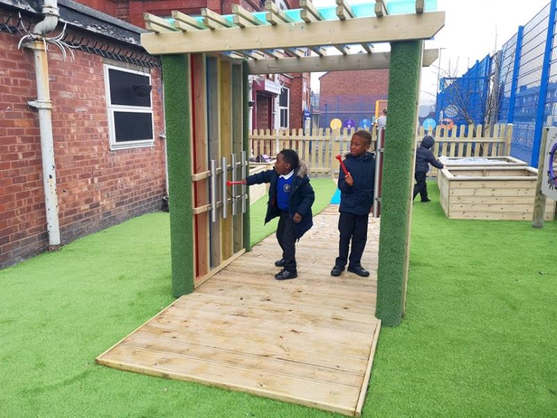 Sensory Play Equipment for Schools