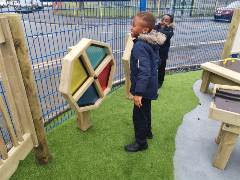 Sensory Play Equipment for Primary Schools