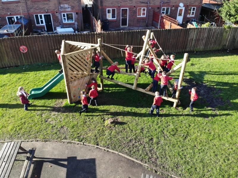 Playground Climbing Frames For Schools
