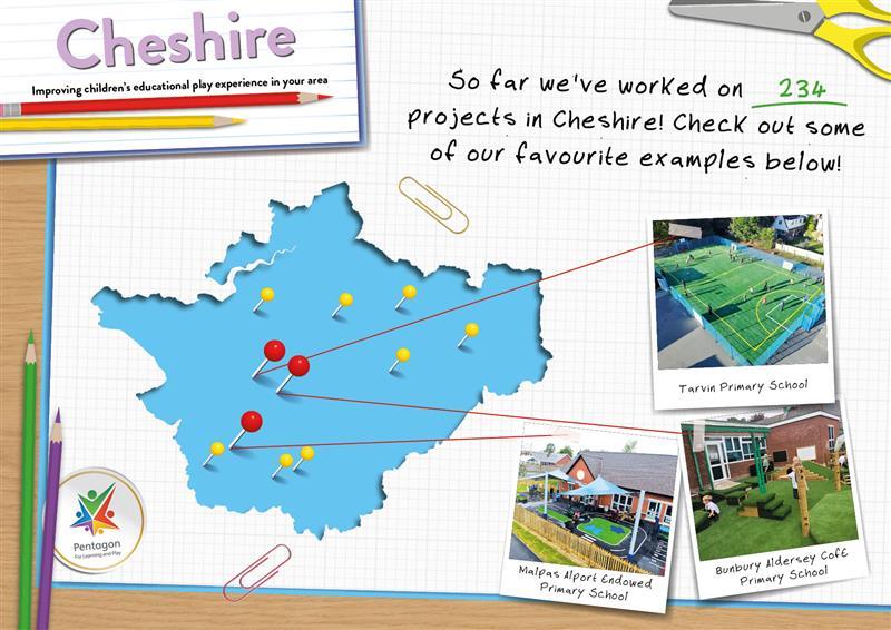 School Playground Equipment in Cheshire