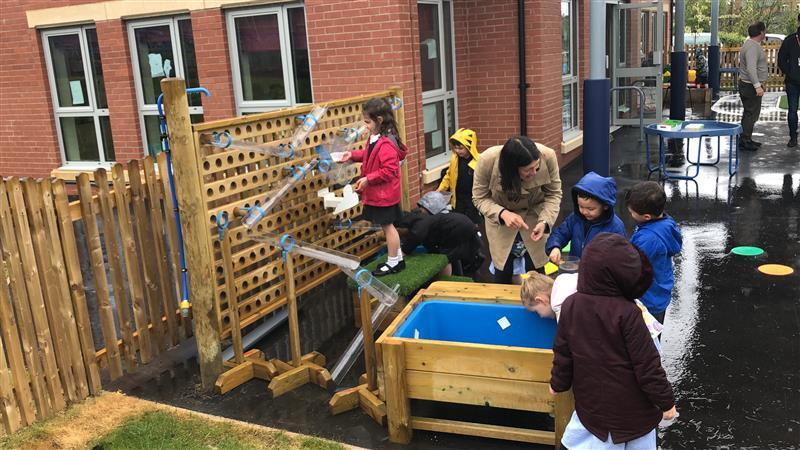 EYFS Playground Equipment In Cheshire