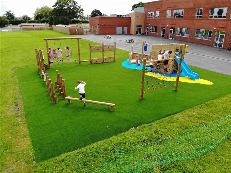 Key Stage 1 Playground Equipment In Cheshire
