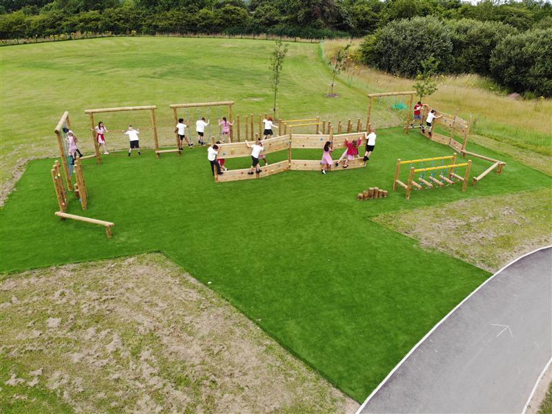 Key Stage 2 Playground Equipment