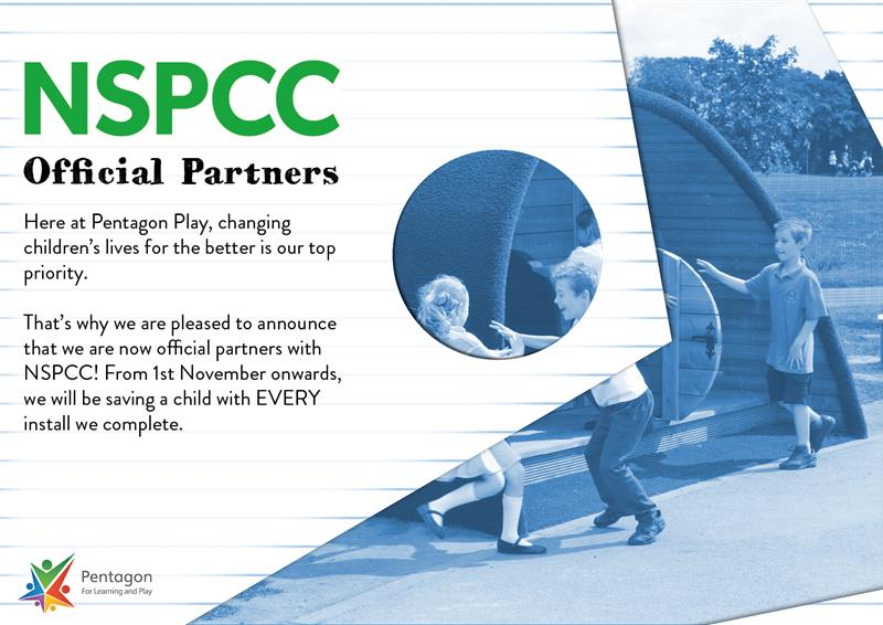 Pentagon Play Partners of The NSPCC