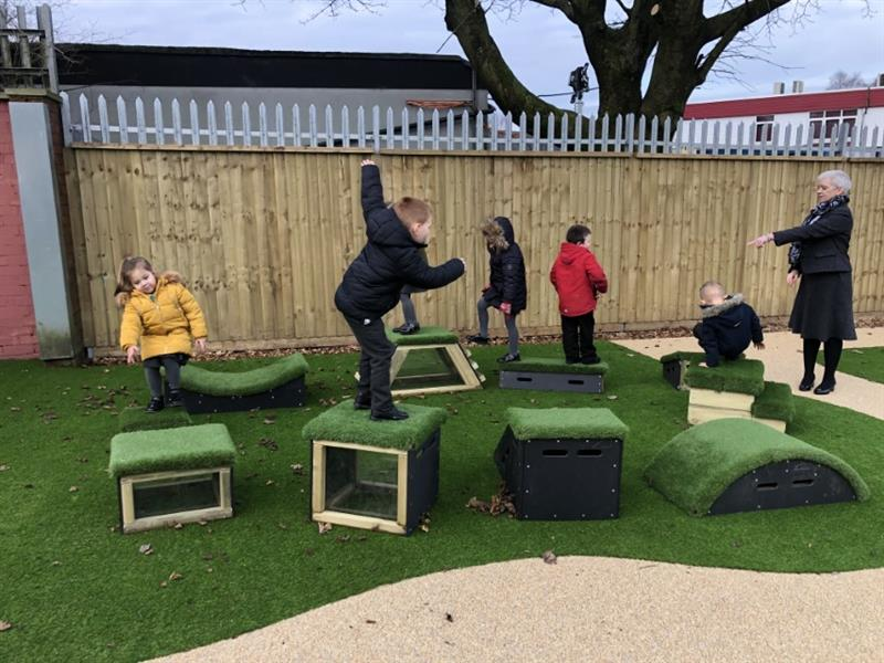 Active Playground Equipment For EYFS