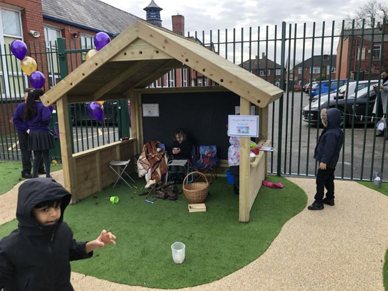 Playhouses for EYFS Playgrounds