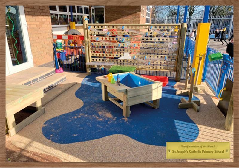 EYFS Playground Water Walls