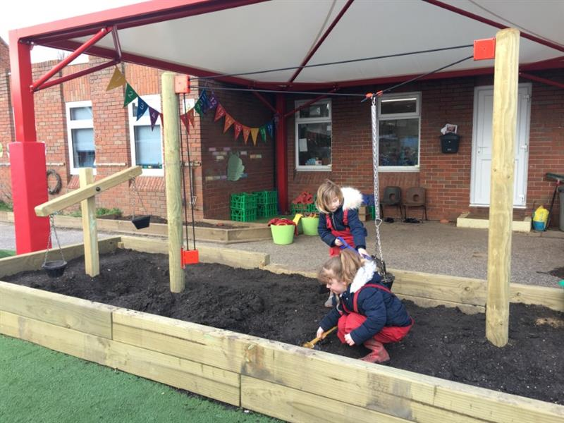 outdoor play equipment for EYFS