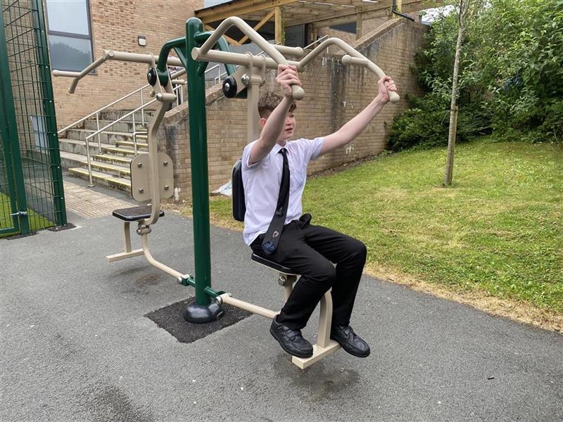 gym equipment at darwen studio school