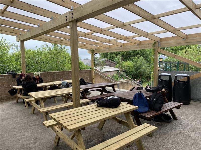The canopie at darwen school