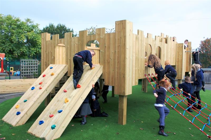 Playground Castles for Schools