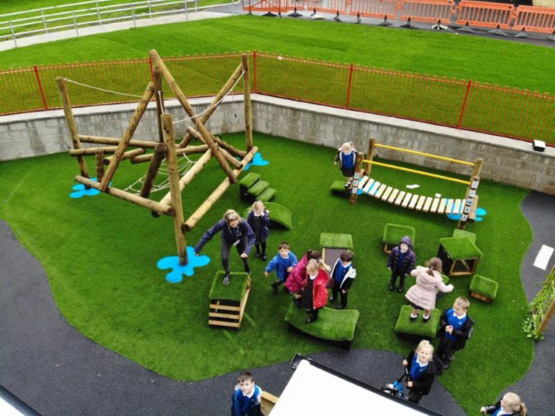 School Active Playground Equipment
