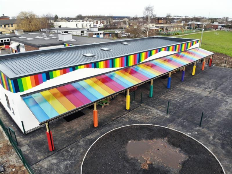 Playground Timber Canopies for Schools