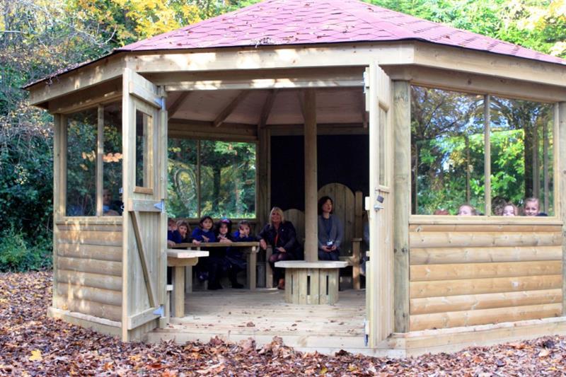 Outdoor Gazebos for School Playgrounds