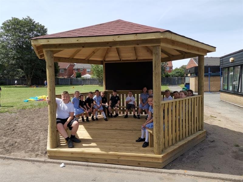 Canopies for school playgrounds