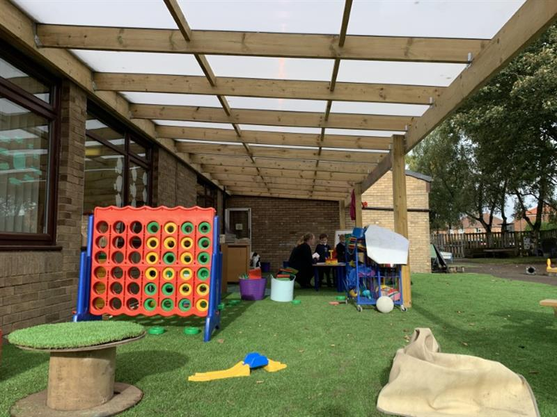 Timber Canopies for Primary School Playgrounds