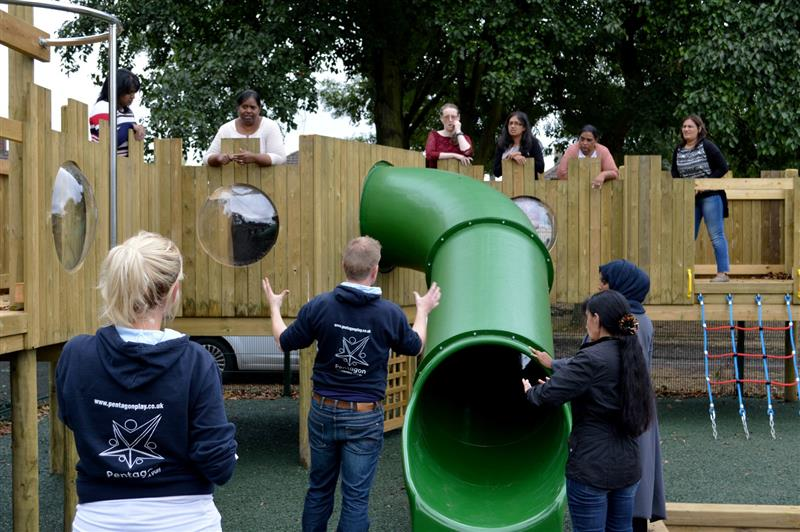 Early years active play training