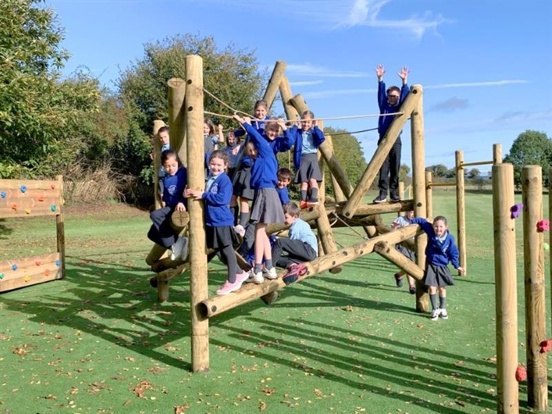 School Playground Climbing Frames