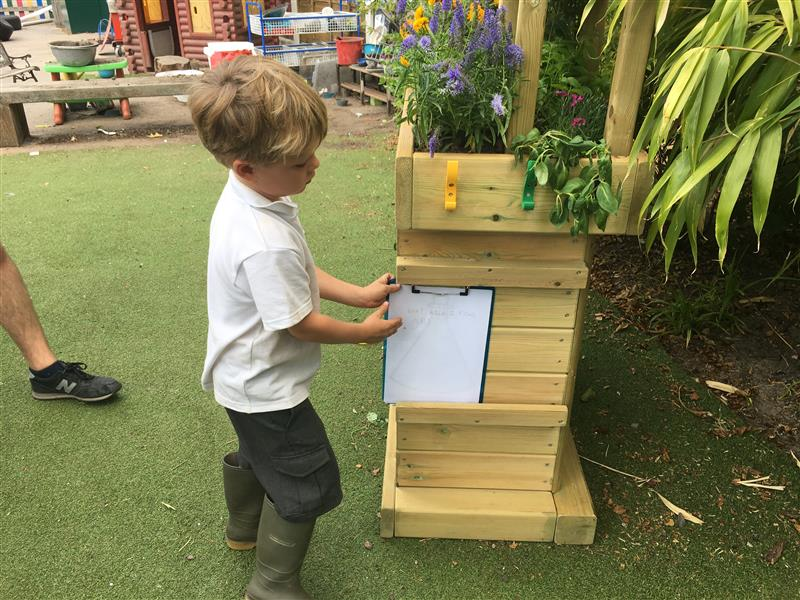school bug hotel for eyfs and ks1