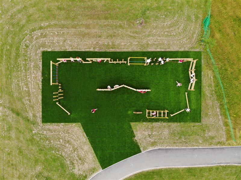 Playground Trim Trails
