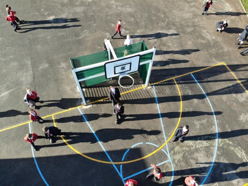 MUGA Goal Ends for Schools