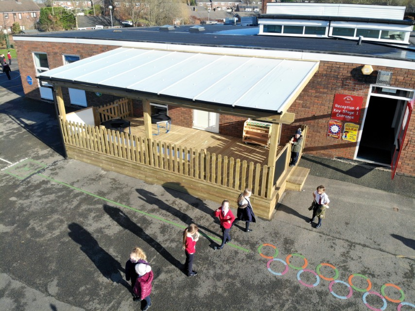 Timber Canopies for School Playgrounds