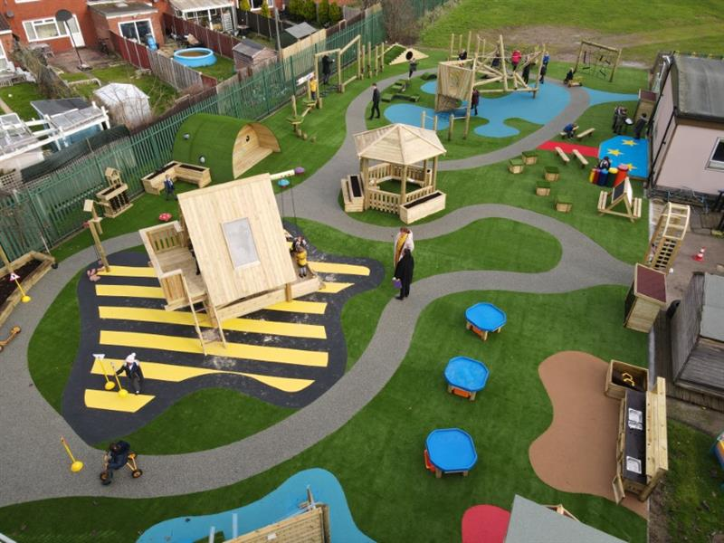 An all-weather eyfs playground redesign