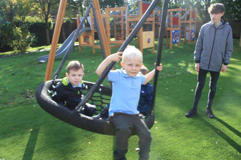 Playground Swings for Schools