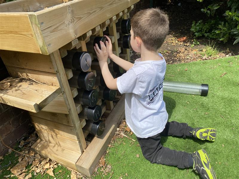 Bug hotels for school playgrounds