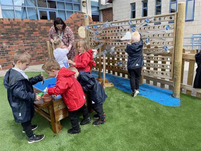 Water Walls for Primary Schools