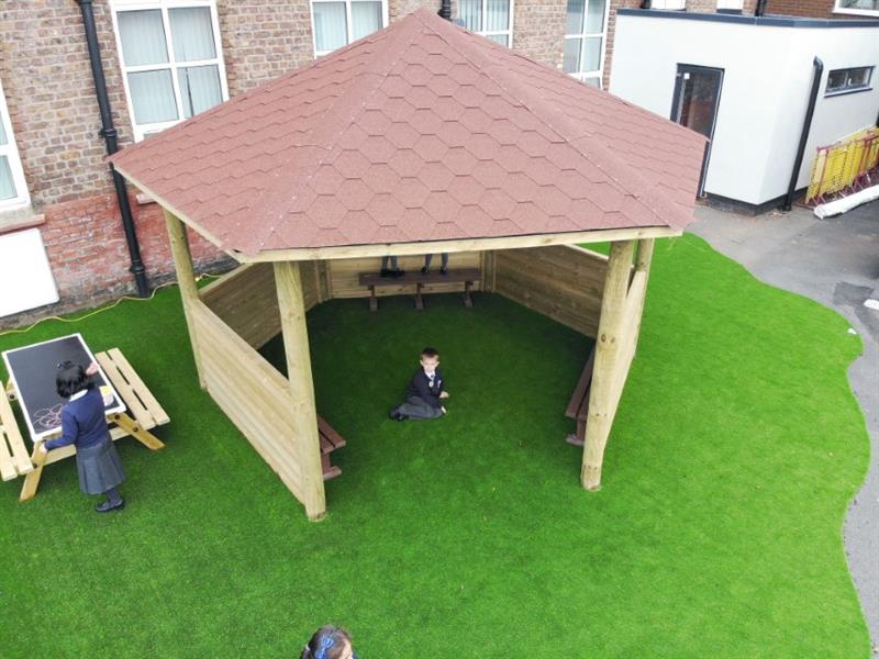 Outdoor Classroom Gazebos for School Playgrounds