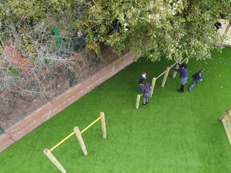 Trim Trail Equipment for Primary Schools
