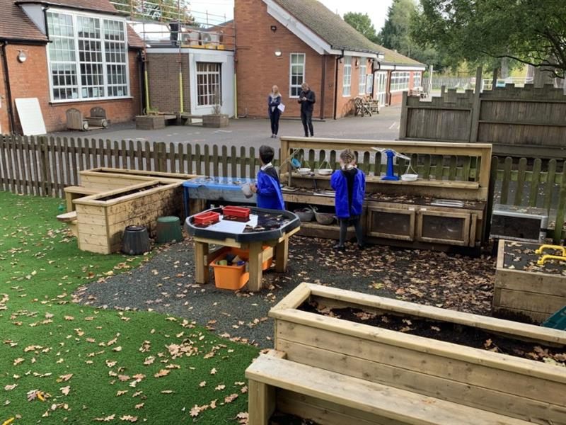 EYFS Playground Mud Kitchens