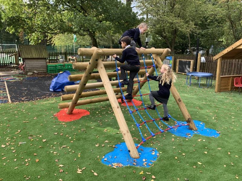 Trim Trail Equipment For EYFS