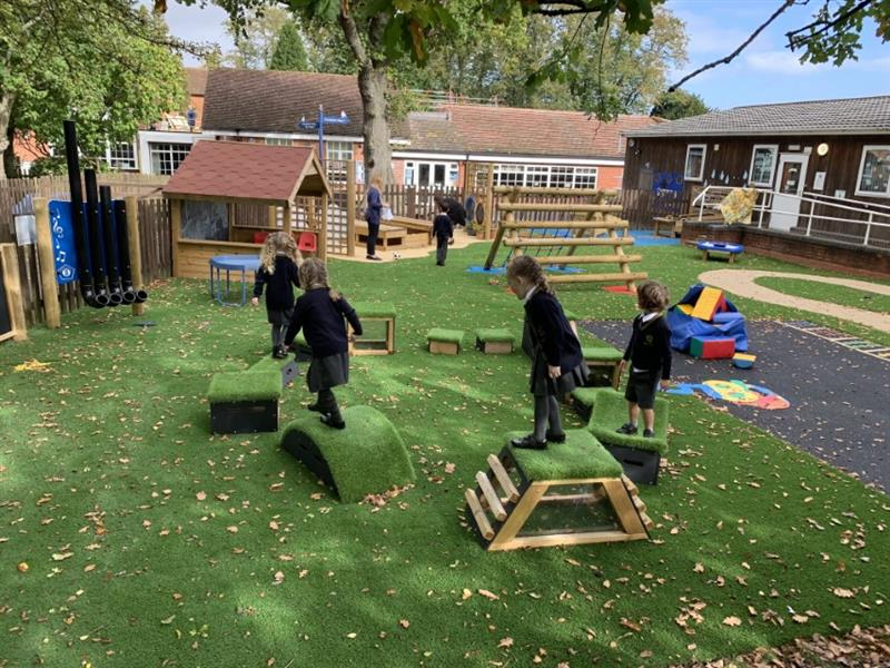 EYFS Trim Trail Equipment