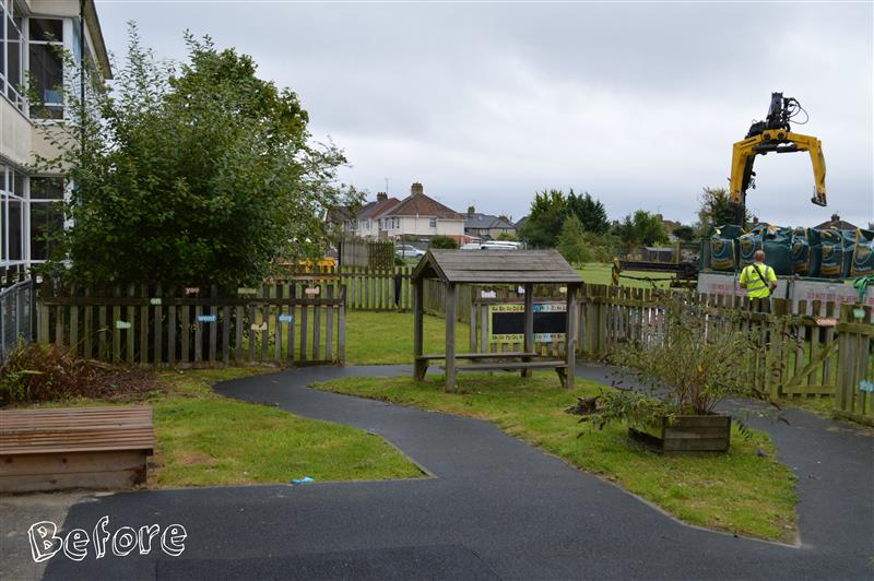 St Mary's Primary School playground