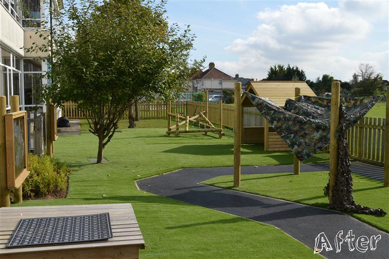 St Mary's early years playground