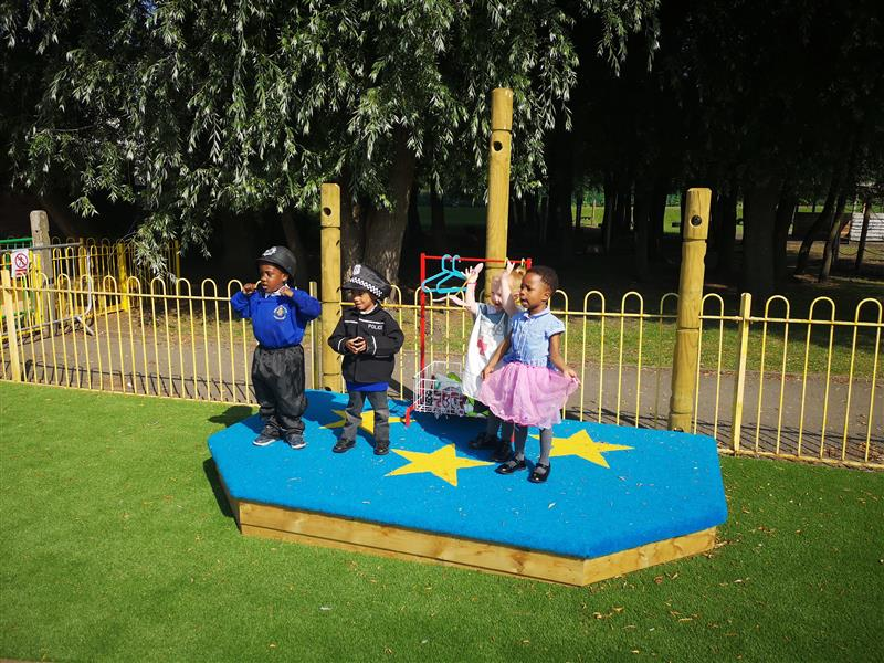 outdoor school stage