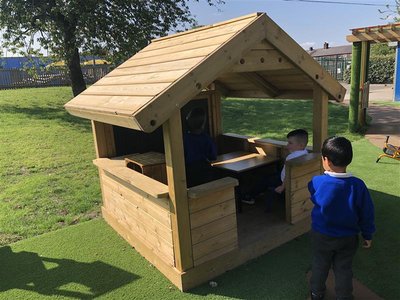 EYFS Playground Playhouses