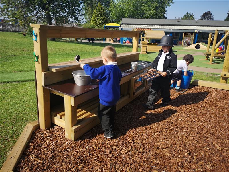 Mud Kitchen For Schools