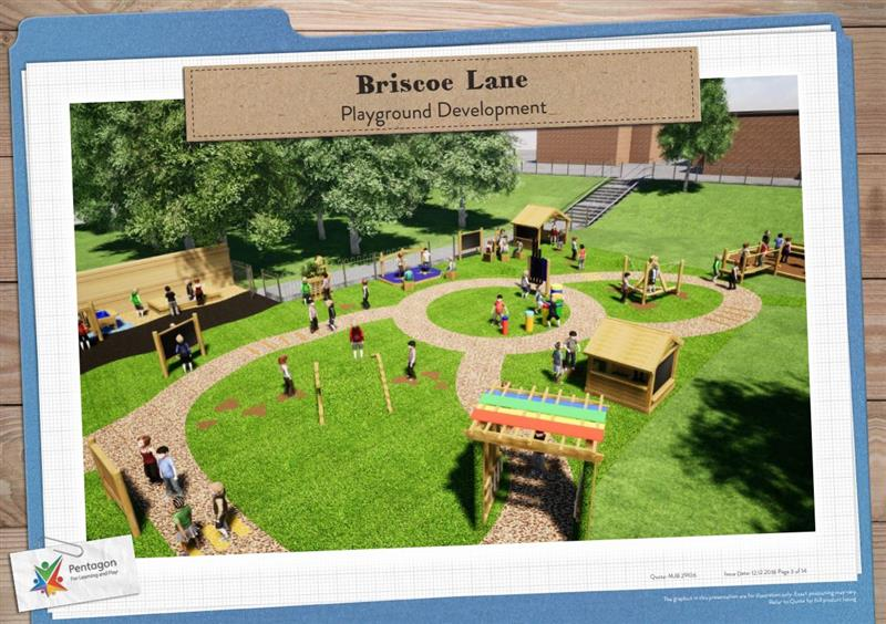Pentagon Play Playground Design