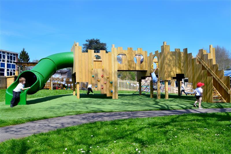School Playground Castles