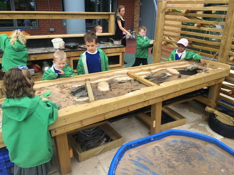 messy play for early years