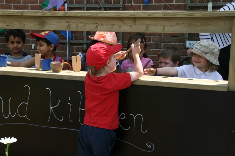 Mud Kitchen For Early Years
