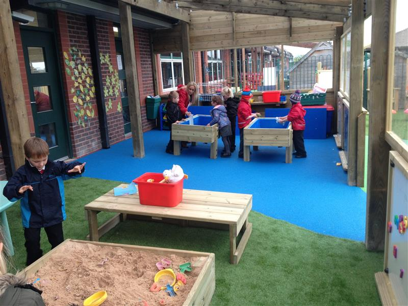early years outdoor classroom canopy